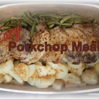 Easy Pork Chop Meal
