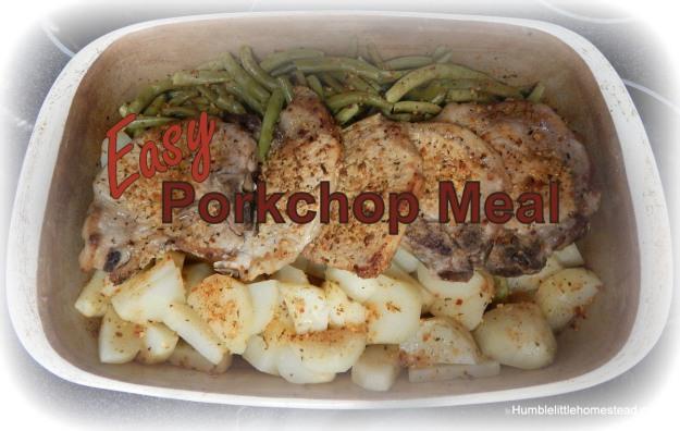 Easy Porkchop Meal