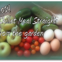 Easy Veggie and Egg Skillet Meal