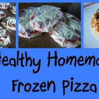 Healthy Homemade Frozen Pizza