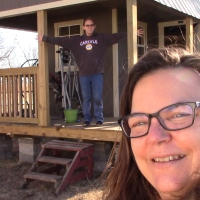 Tiny House || Shed To House ||  My Shed Cabin Is Here!