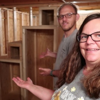 Shed To House||  They Are Done and Turned Out AWESOME!|| Loft Stairs Part 2